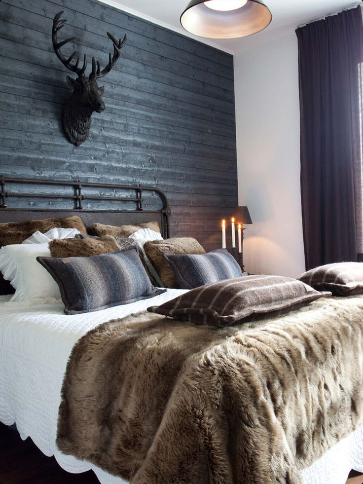 Keuken Landelijk Aankleden : Bedroom Decorating Ideas with Fur Throws