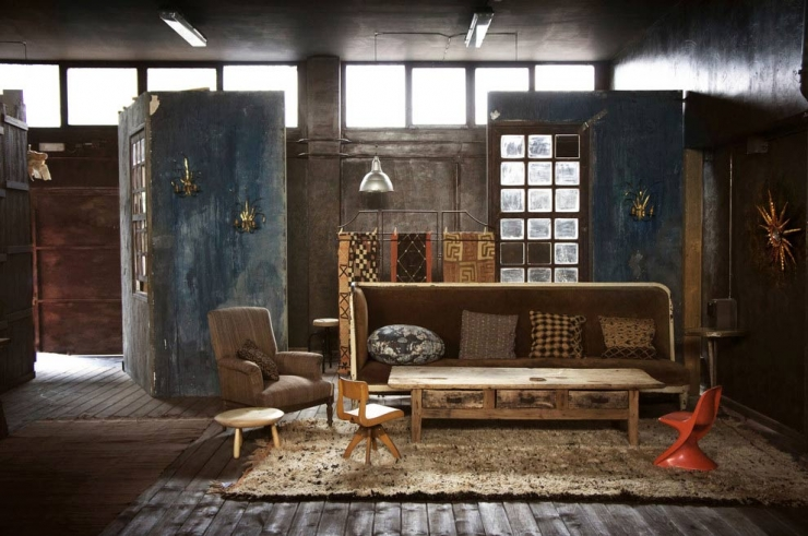 Industrial loft in madrid everything you need to turn - Lampe loft industriel ...