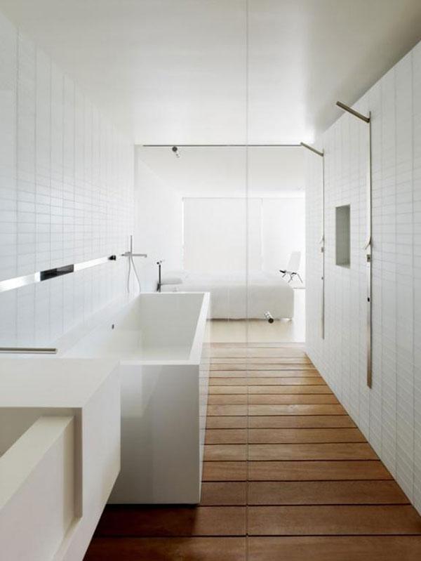 witte badkamer met hout ~ pussyfuck for ., Badkamer